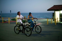 Kid Rock & Sean Penn in Americans Beach Cruiser Scene